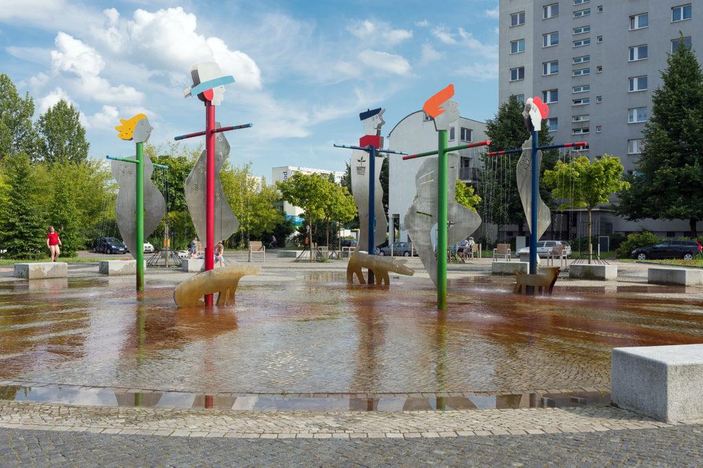 Mahrzah-Hellersdorf, Fred-Löwenberg-Platz; Cecilienstr./Wuhlestr.