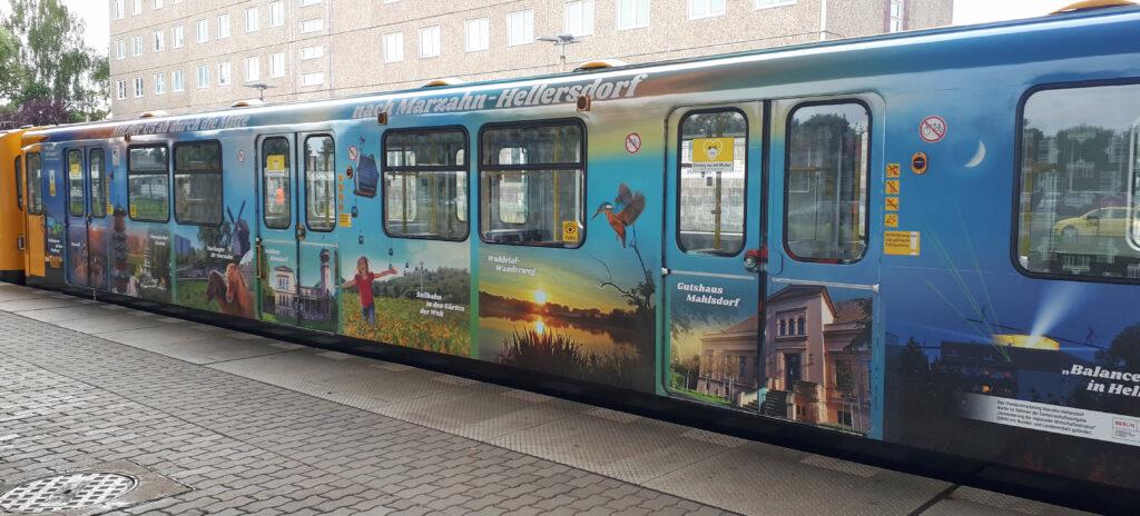 U5 Sonderzug Marzahn-Hellersdorf