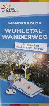 Wuhletal-Wanderweg Flyer