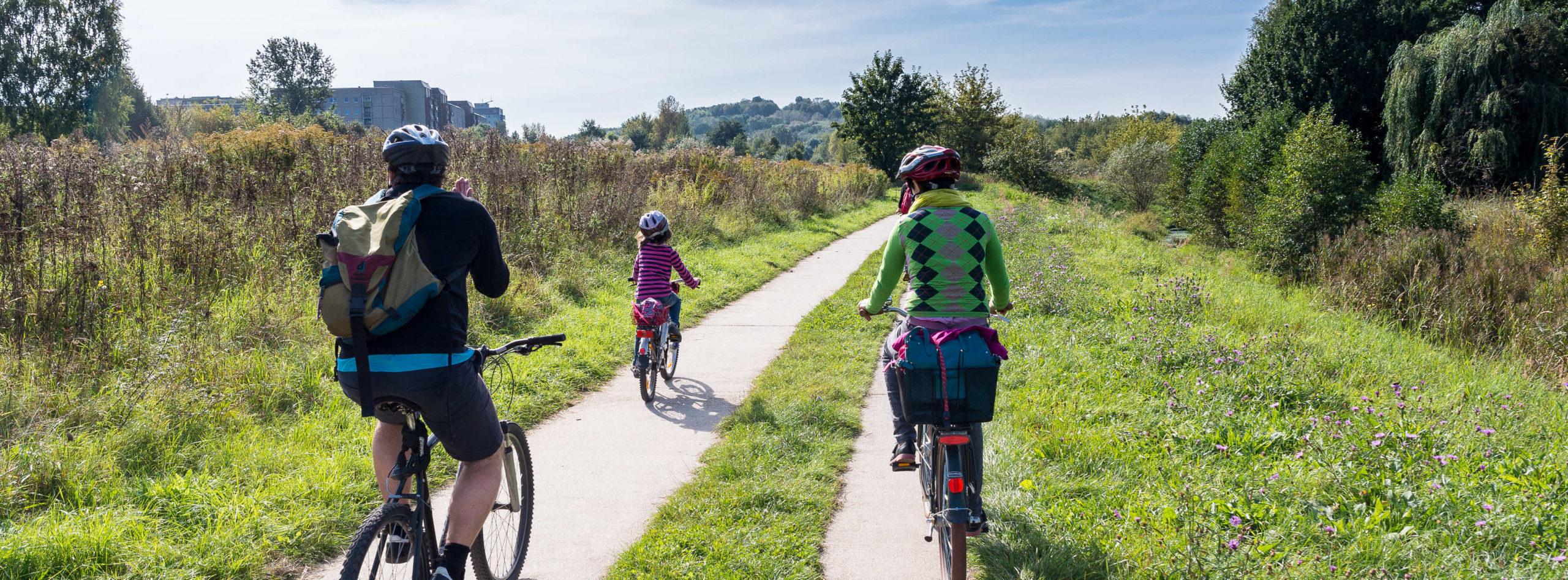 Radfahren im Wuhletal